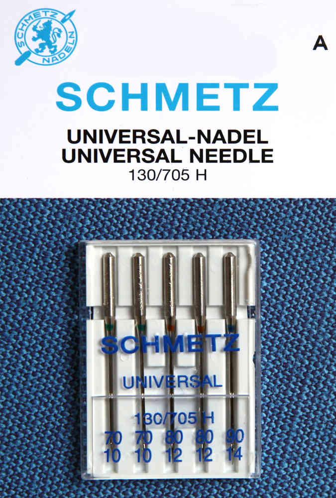 Nähmashinennadel Flachkolben Universal 130//705 H Nadel Stärke 70 90 80 100