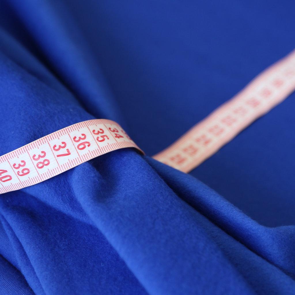 sweat jogging royalblau stoff r cken weich wie fleece kaufen. Black Bedroom Furniture Sets. Home Design Ideas