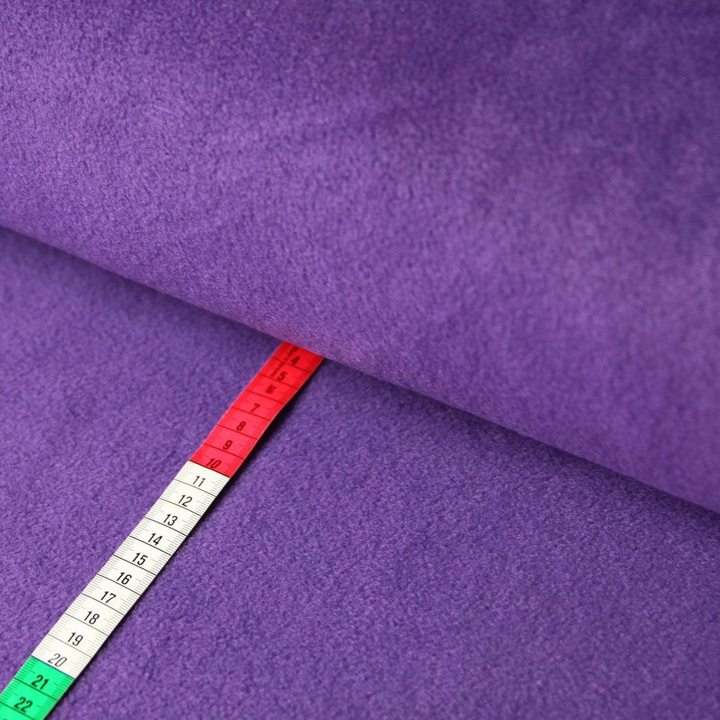fleece stoff uni einfarbig violett lila g nstiger online. Black Bedroom Furniture Sets. Home Design Ideas