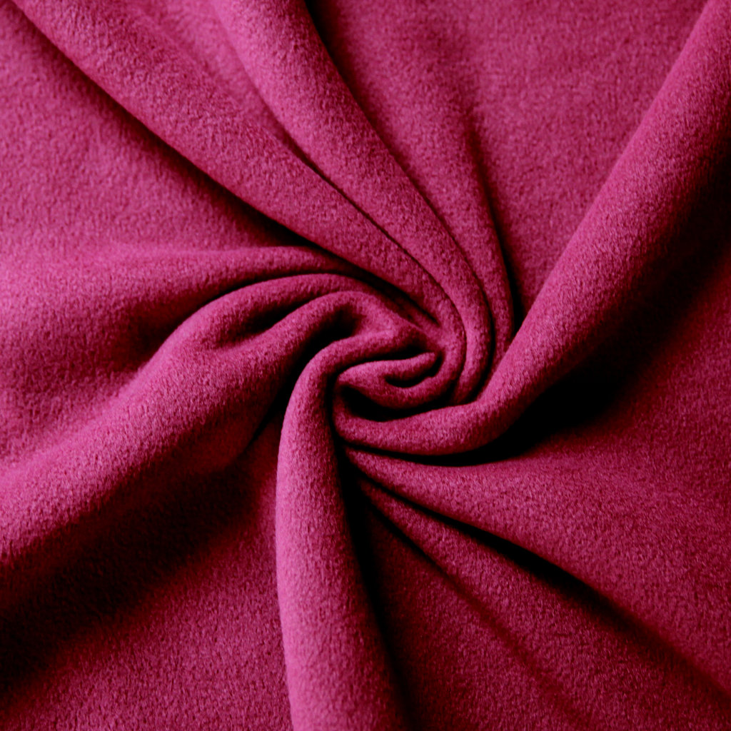 fleece stoff uni einfarbig bordeaux g nstiger online kaufen. Black Bedroom Furniture Sets. Home Design Ideas