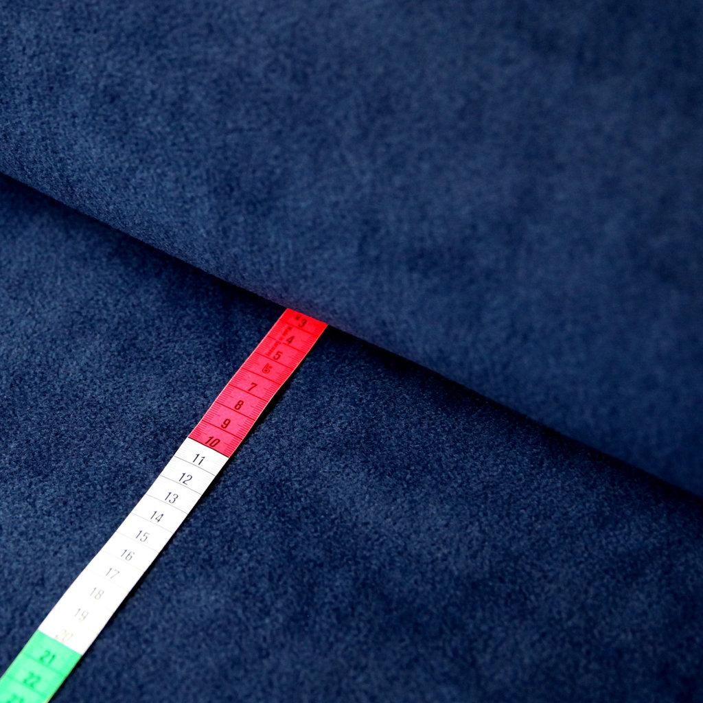 fleece stoff uni einfarbig marineblau g nstiger kaufen. Black Bedroom Furniture Sets. Home Design Ideas