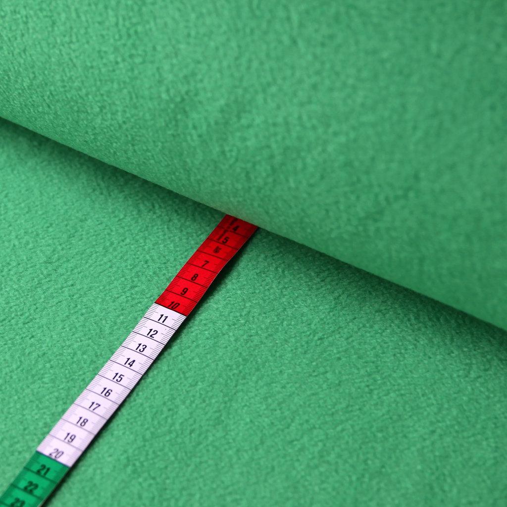 fleece stoff uni einfarbig gr n g nstiger online kaufen. Black Bedroom Furniture Sets. Home Design Ideas