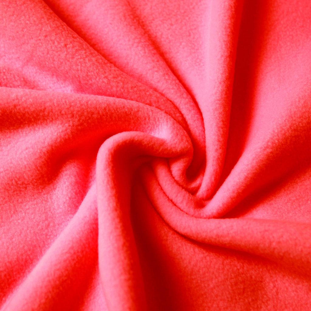 fleece stoff uni einfarbig rot red g nstiger online kaufen. Black Bedroom Furniture Sets. Home Design Ideas