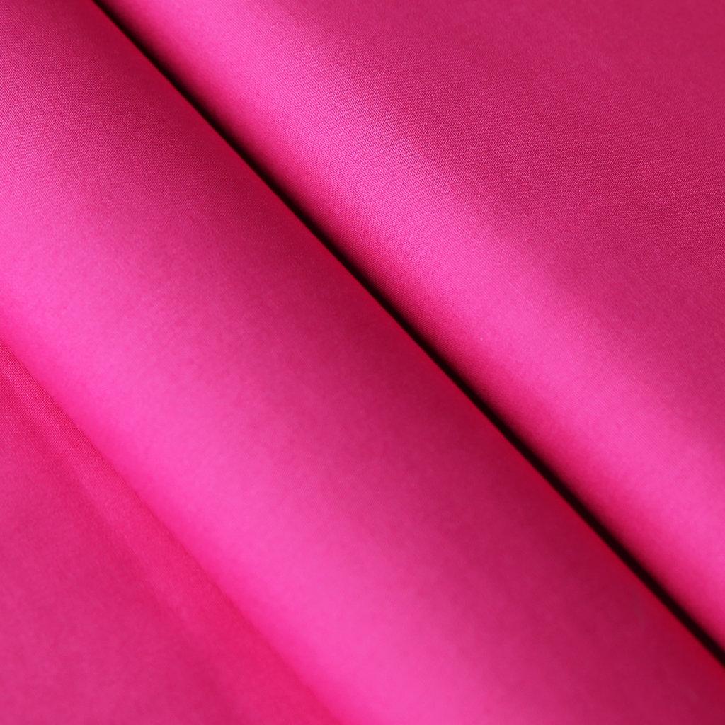 Decke Farbe Fuchsia: Baumwollstoff UNI Farbe Fuchsia 100% Baumwolle Einfarbig NEU