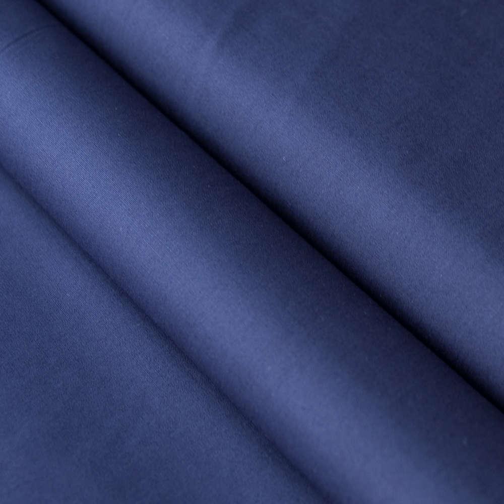Baumwollstoff Uni Marineblau Kaufen