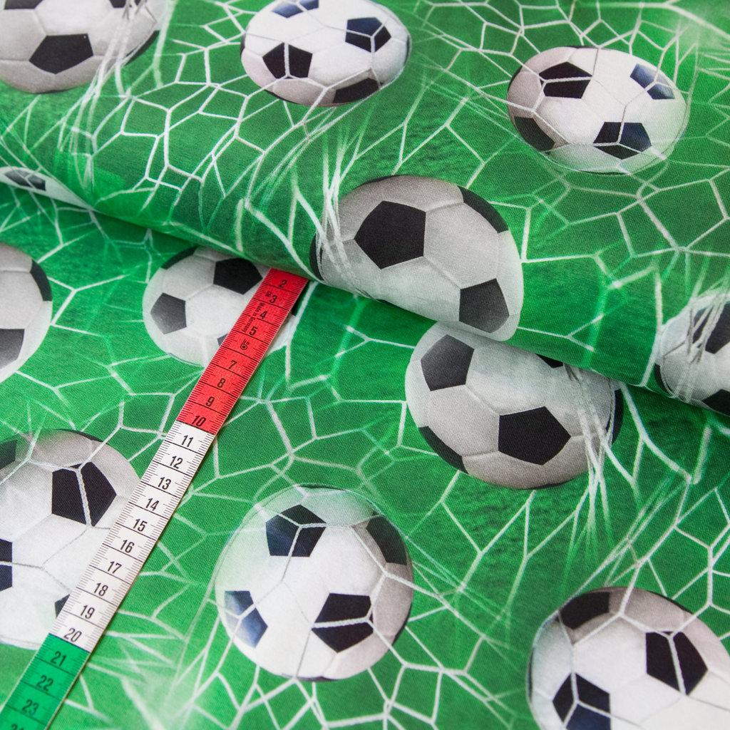 Jersey Stoff Fussball Em Wm Kicker Soccer Digital Druck Grun